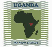 Uganda Heart of Africa Baby Tee