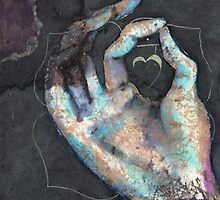 Muladhara - Root chakra mudra  by Tilly Campbell-Allen