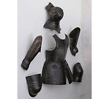 English Civil war Armour. Photographic Print