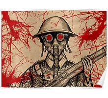 World War I Soldier Poster