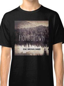 ZAC BROWN BAND HOMEGROWN Classic T-Shirt