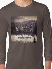 ZAC BROWN BAND HOMEGROWN Long Sleeve T-Shirt