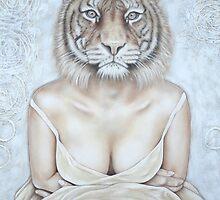 La femme tigre - The tiger woman by Caroline Houde