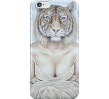 La femme tigre - The tiger woman iPhone Case/Skin