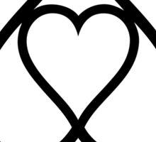 heart poker love symbol Sticker