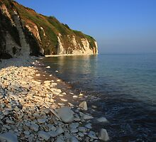 The Stunning Beach and White Cliffs at Danes Dyke - Flamborough by Paul Bettison