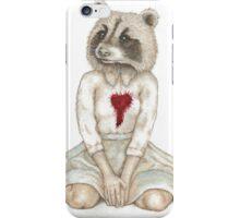 Série Avoir le coeur animal no.2 iPhone Case/Skin