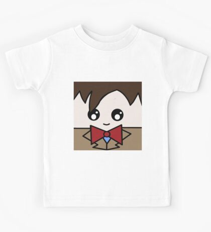 Dr Who 11th Doctor Squ'ed Kids Tee