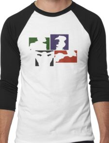 Cowboy Bebop Colored Panels Men's Baseball ¾ T-Shirt