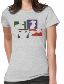 Cowboy Bebop Colored Panels Womens Fitted T-Shirt