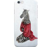 La femme zèbre - the zebra woman iPhone Case/Skin