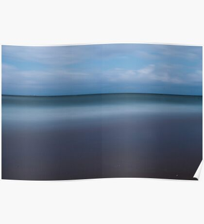 Abstract view of the sea Poster