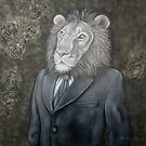 L'homme lion - The lion man by Caroline Houde