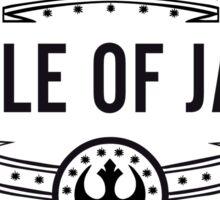 I Survived the Battle of Jakku (black text) Sticker