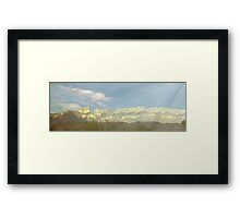 Mystical Southwest Dusk Framed Print