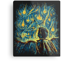 Angels, They're Falling (Supernatural) Metal Print