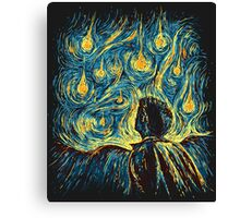 Angels, They're Falling (Supernatural) Canvas Print