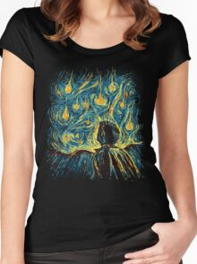 Angels, They're Falling (Supernatural) Women's Fitted Scoop T-Shirt