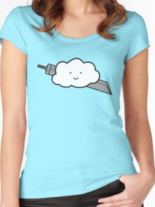 Cloud Fantasy Women's Fitted Scoop T-Shirt