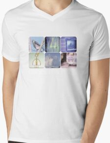 Boards of Canada Mens V-Neck T-Shirt
