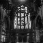 Carlisle Cathedral B&W by Phill Sacre