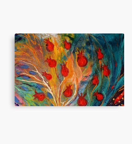 Original painting fragment 11 Canvas Print