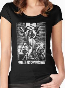 The Magician - Tarot Cards - Major Arcana Women's Fitted Scoop T-Shirt