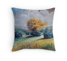 Kenmare stone circle Throw Pillow