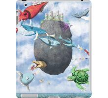 Floating Castle and Flying Fish iPad Case/Skin