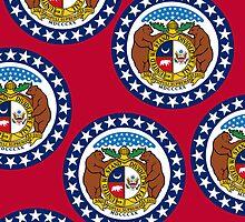 Smartphone Case - State Flag of Missouri - Horizontal II by Mark Podger