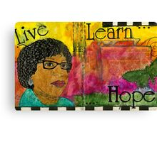 Learning to Keep HOPE Alive Canvas Print
