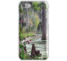Swamp Drapes iPhone Case/Skin