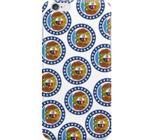Smartphone Case - State Flag of Missouri - Vertical IV iPhone Case/Skin