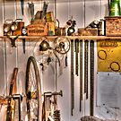 The Bike Repair Shop (HDR) by Stephen Knowles