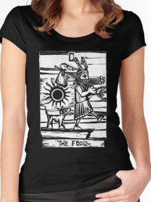The Fool - Tarot Cards - Major Arcana Women's Fitted Scoop T-Shirt