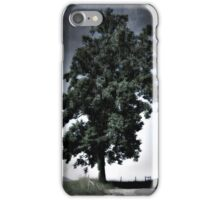 Tree Against The Rain iPhone Case/Skin