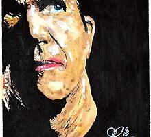 Mel Gibson by Adzee
