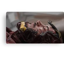 The Fallen Hero Canvas Print