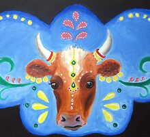 Bollywood Cow by Almonda