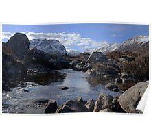 River Lair, Torridon Poster