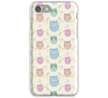 Muted Owls iPhone Case/Skin