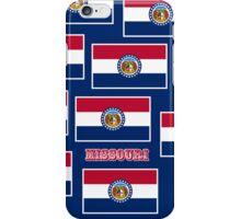 Smartphone Case - State Flag of Missouri - Horizontal VI iPhone Case/Skin