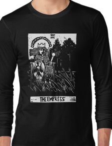 The Empress - Tarot Cards - Major Arcana Long Sleeve T-Shirt
