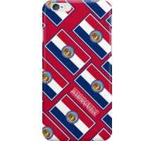 Smartphone Case - State Flag of Missouri - Diagonal I iPhone Case/Skin