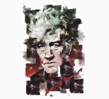 David Lynch Watercolour by OutlawOutfitter