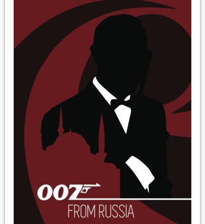James Bond - From Russia With Love Sticker