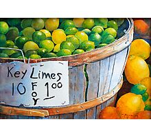 Key Limes, Ten for a Dollar Photographic Print