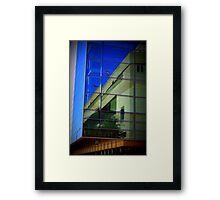 Newseum and Embassy of Canada Framed Print