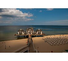 Sellin's Pier Photographic Print
