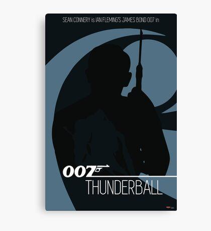 James Bond - Thunderball Canvas Print